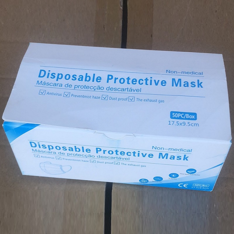 Žkatla zaščitnih mask